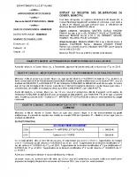 Conseil municipal du 23 septembre 2015