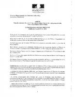 Arrêté Préfectoral révision catégorie piscicole
