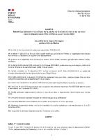 Arrêté Préfectoral règlementant la pêche truite de mer et saumon 2021