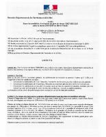 Arrêté fixant les modalités d'exécution du plan de chasse de chasse chevreuils pour la saison 2018-2019